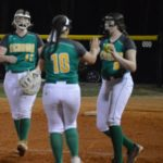 Solid pitching leads Richmond Senior softball to victory