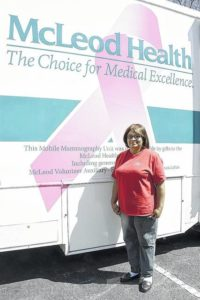 Mobile Mammography Unit screens 20,000th patient