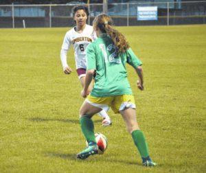 Lumberton hands Richmond Senior girls soccer first loss of season