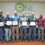 Cascades employees complete certification at RCC