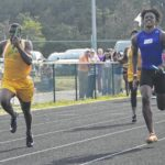 Richmond Senior track races to victory in SEC regular-season finale