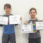 Homeschool students earn award
