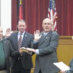 County commissioners take oaths