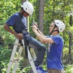 Summer camping with Richmond County 4-H