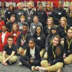 Hamlet Middle School recognizes A honor roll achievers