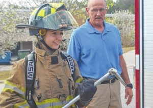 Igniting interest in firefighting